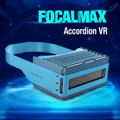 Focalmax Foldable Accordion VR 3D Movie Video Game Glasses For iPhone 4.5 To 6 Inch Smartphone
