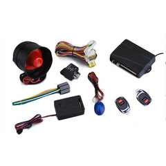 AW010 JP-D68 433.92MHz Car Sercurity Alarm System with 2 Pcs Remotes
