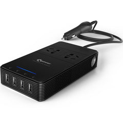 T1 Multifunction Car Inverter AC USB 2.4A Charger Air Purification