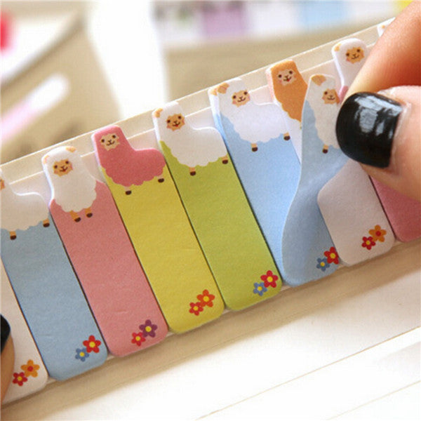 Wil je alles weten over Mini Cartoon Animal Sticker Memo Bookmark Sticky Notes? Hier lees je alles over Office & School Supplies Stationery Supplies