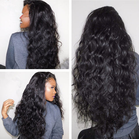 Black African Little Curly Black Fluffy Long Curly Hair Wig