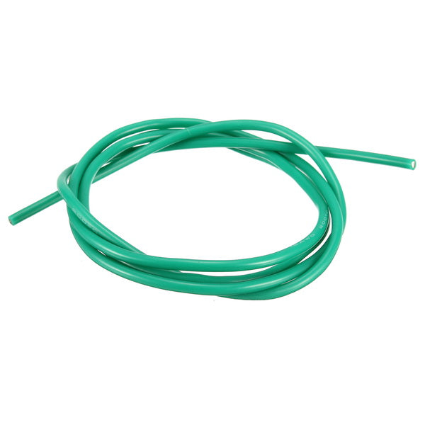 16AWG Flexible Silicone Wire Cable Soft High Temperature Tinned Copper Green 1/3/5/10M