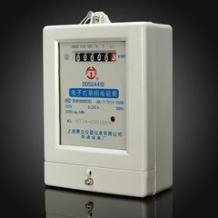 DDS844 5(20)A 220V 50HZ Single Phase Two Wire Electric Energy Meter