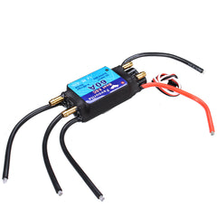 FVT BOAT060 60A Brushless Senseless BOAT ESC Speed Controller Waterproof 5V/5A RC Boat Part