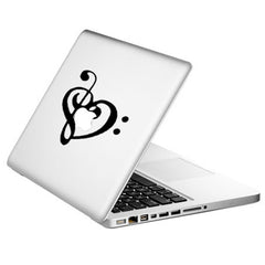 Hot Musical Note Sticker Skin Decal for Apple Macbook Laptop Pro Air 13'' 15''