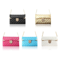 Mini Handbag Quilted Leather Wallet Case For Samsung Galaxy Note 3
