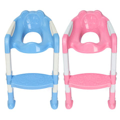 Baby Toddler Kids Potty Toilet Training Safety Adjustable Ladder Seat Chair Step