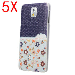 5X Bicolor PC Protective Case For Samsung Note3 N9000