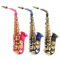 LADE Alto Eb Colorful Saxophone With Case & Accessories