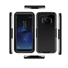 IP68 Waterproof Snowproof Hard PC Case For Samsung Galaxy S8 Plus