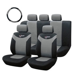 Tirol Car Seat Cover Front and Rear Cushion 10 Pieces General