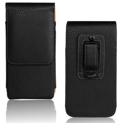 Litchi Waist Hanging Leather Case For Samsung Galaxy S6 Edge G9250