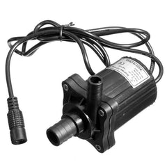 12V 500LPH DC Brushless Submersible Water Pump Motor Garden Fountain Pump