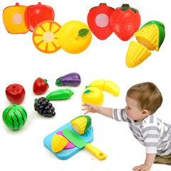 Cutting Fruit Crate with Knife Pretend Play Shop Food Toys