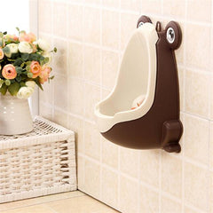 Lovely Frog Children Potty Toilet Kids Urinal Boys Stand Pee Trainer Bathroom Baby Toddler Stylish Wall Hang