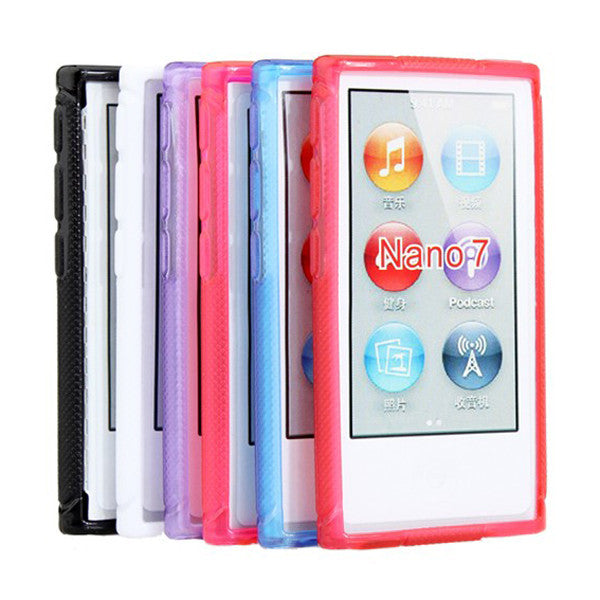 Succinct X Shaped Pattern Plastic Protective Case For iPod Nano 7