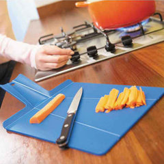Portable Plastic Foldable Chopping Board Cutting Block Kitchen Prep Mat Cutting Board
