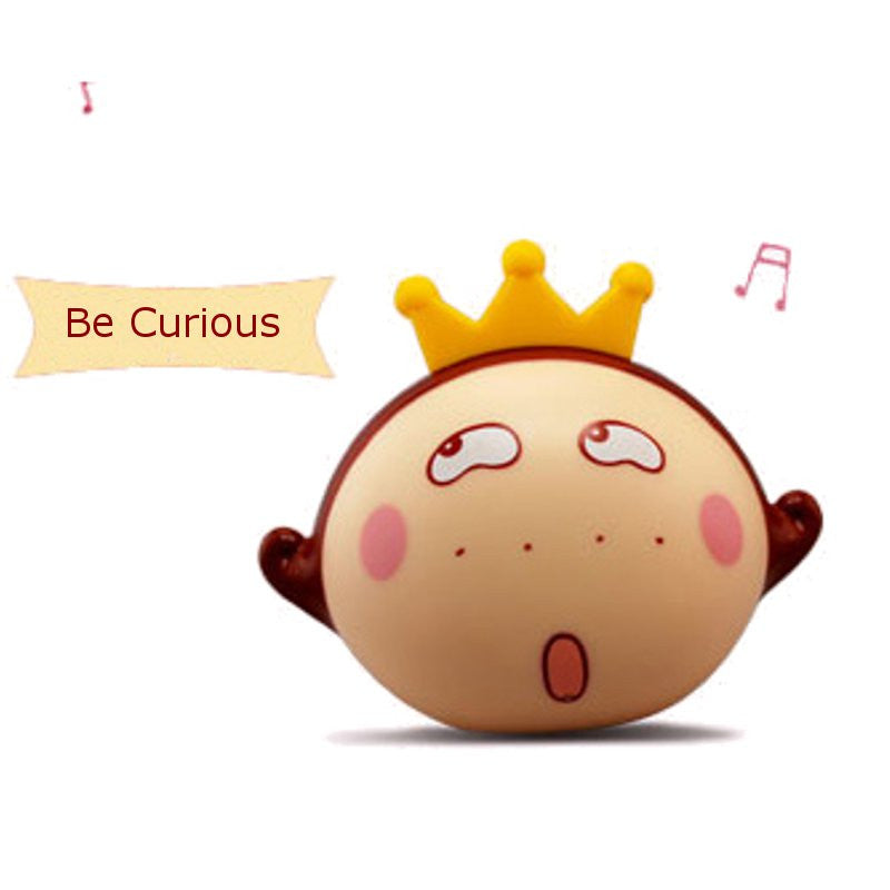 2015 Cartoon Be Curious Cute wireless Bluetooth Mini Subwoofer Creative Speaker For iPhone 6S iPad