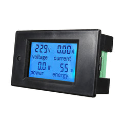 100A AC260V Digital Watt Power Energy Meter Current Tester Voltmeter with Open-close CT