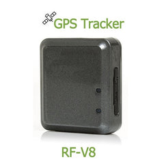 RF-V8 Mini Quad Band High Efficiency Anti-theft Positioning GSM GPS GPRS Tracker Alarm with Lanyard