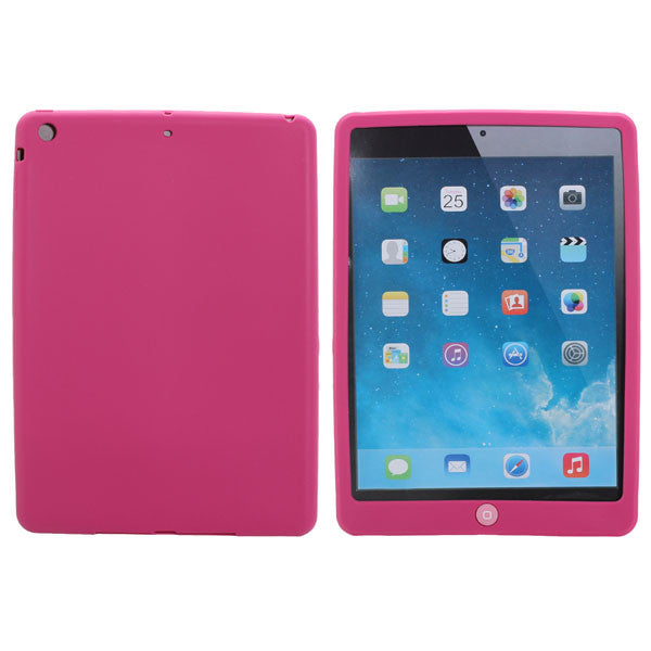 Colorful TPU Soft Bean Gel Protective Case Cover For iPad Air
