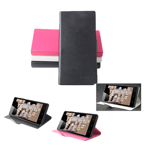 PU Leather Flip Open Case For ThL Ultraphone 4400 5000