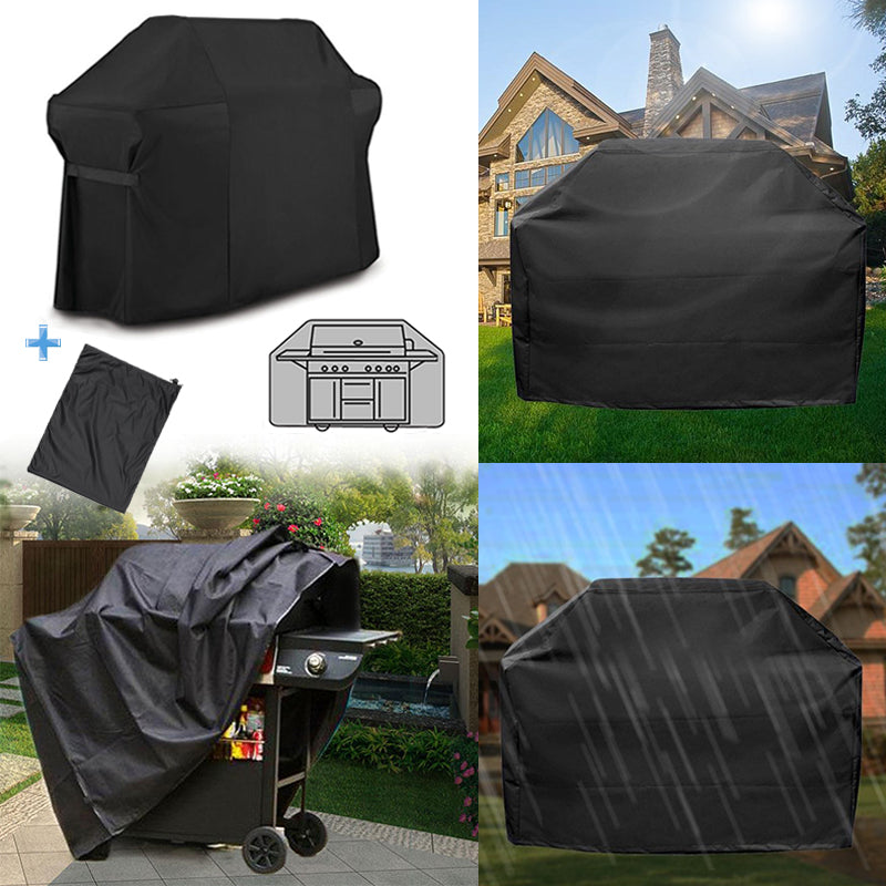 BarbecueBBQGrillCover+Opbergtas voor Weber 7109 Summit 600 Series Gas Grill