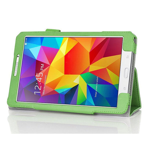 Folding Stand PU Leather Case Cover For Samsung tab4 T330 Tablet