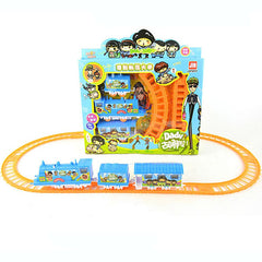 DIY Train Puzzle Toys Creative Educational Toys Children Track Rail Toys