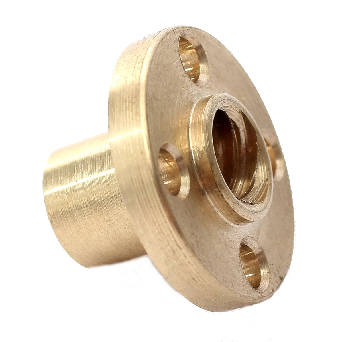 Brass Flange Nut For 3D Printer Z Axis 8mm Stainless Steel