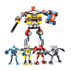 4 In 1 Transformation Robot Car DIY Toys For Children