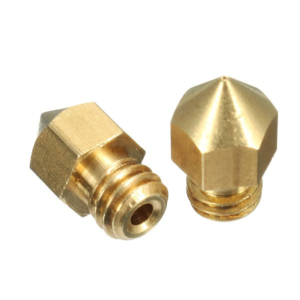 3D Printer Printing 0.2mm Brass Nozzle For 1.75-3.0mm Filament M6 Thread RepRap