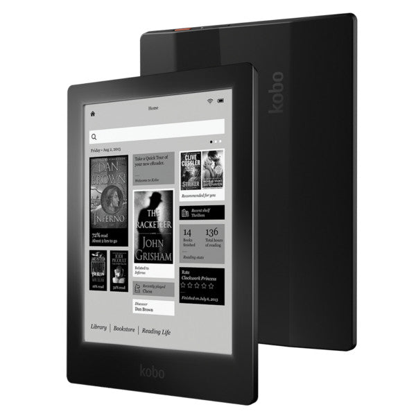 Kobo Aura HD eBook Reader 6.8 Inch 1440x1080 Touch Screen E-ink With Front Light