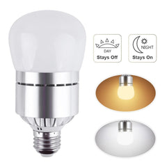 ARILUX® E27 12W Dust to Dawn Automatic on&off LED Sensor Light Bulb for Yard Porch Patio AC85-265V