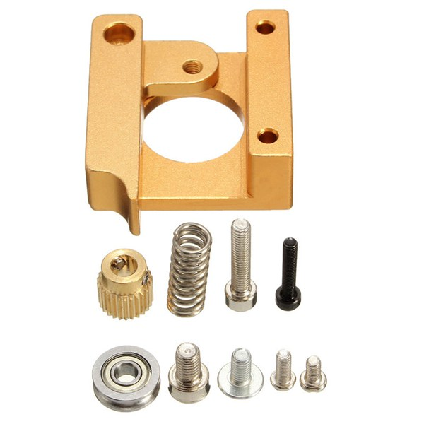 3D Printer MK8 1.75mm Remote Extruder Metal Frame Kit For Reprap