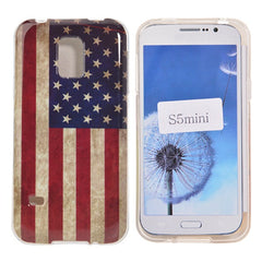 American TPU Protective Case for Samsung Galaxy S5 mini