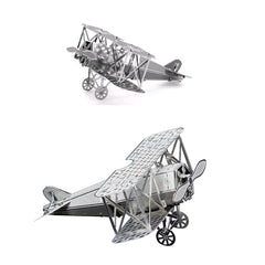 ZOYO Metal Fokker Aircraft Simulation Model 3D Puzzle Educational Toys