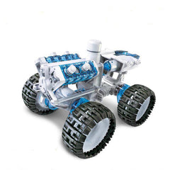 DIY Electronic Salt Water Fueled Space Vehicle Brine Power Assembled Car Educational Toys
