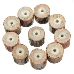 10pcs 12mm Sandpaper Grinding Wheel 80-600 Grit Dremel Accessories For Rotary Tools