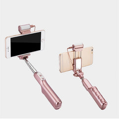 ADYSS 3-in-1 LED Selfie Stick Flash Light Extendable Monopod For iPhone 6 6S Android Smartphone