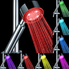 Romantic LED 7 Color Changed Bathroom Hand Shower Head
