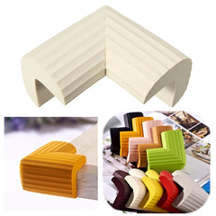 5Pcs Baby Kids Safety Soft Foam Rubber Anti Crash Corner Guard Sharp Guard Table Desk Edge Cush Protector Pads