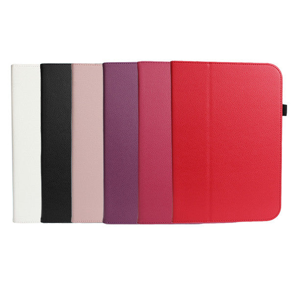 Pure Color Notebook Type Leather Case For iPad Mini 1 2 3