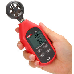 UNI-T UT363 Mini Digital Wind Speed Meter Pocket Anemometer Speed Temperature Tester Thermometer