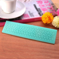 Lace Mold Cake Silicone Mould Cooking Tools Kitchen Accessories
