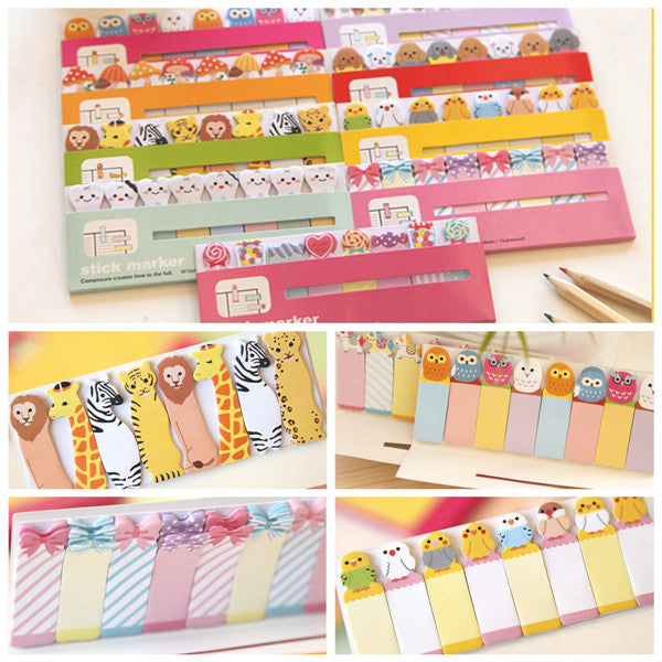 Wil je alles weten over Lovely Cartoon Lollipop Candy Memo Bookmark Sticky Notes Random? Hier lees je alles over Office & School Supplies Stationery Supplies