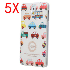5XLittle Car PC Protective Case For Samsung Note 3 N9000