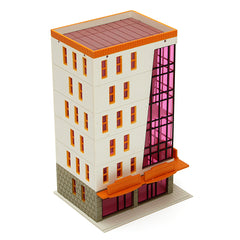 N Scale 1/144 High Modern Building Scenary Layou Outland Model For Sandbox