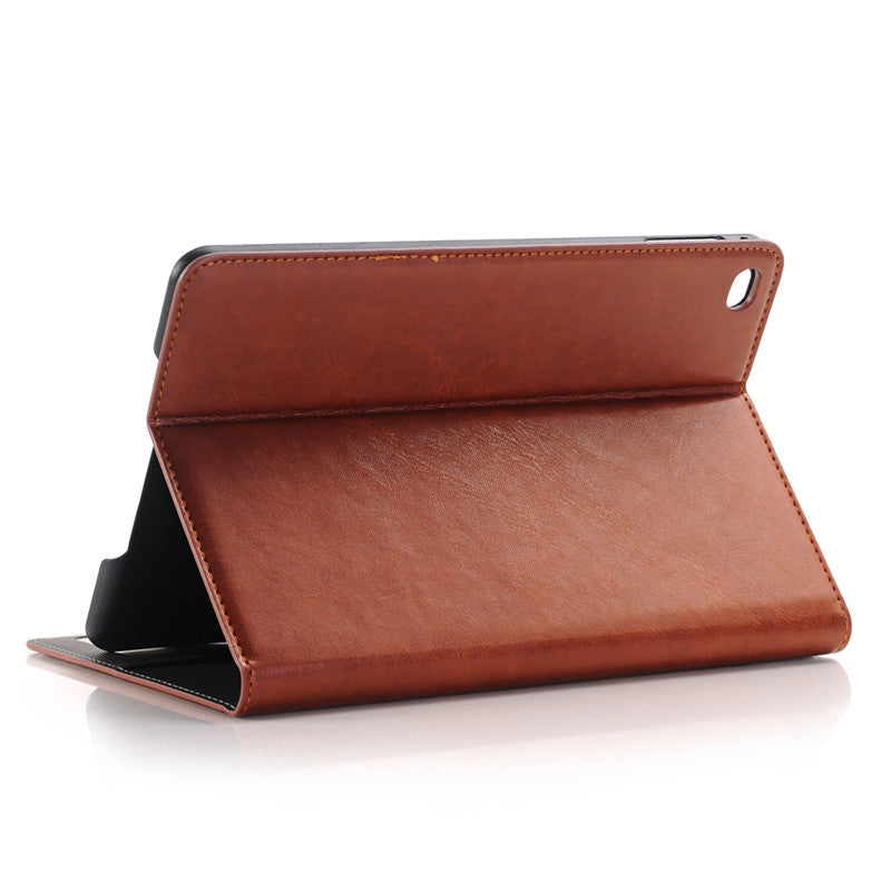 WLD A008 Crazy Horse Style Shell Flip PU Leather Case For iPad Mini 4