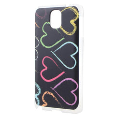 Charming Hearts Pattern Embossed Case for Samsung Galaxy Note 3